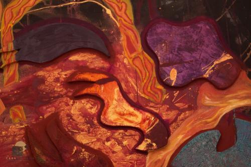 Ríos de Lava en el Espacio Detalle 1